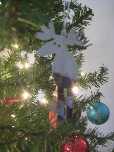 moose christmas ornament