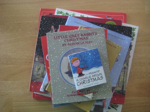 christmas books charlie brown