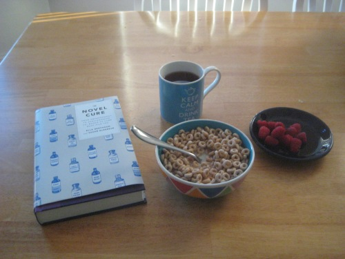 book breakfast tea the novel cure morning