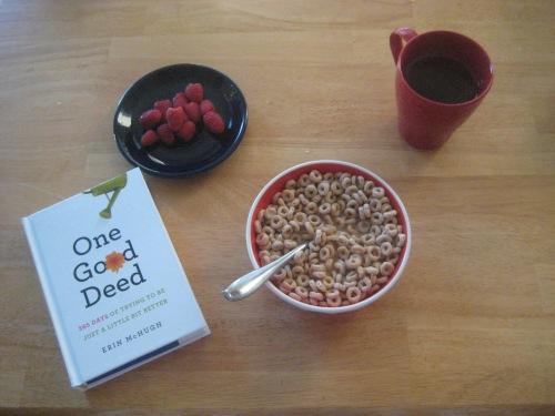 book breakfast one good deed
