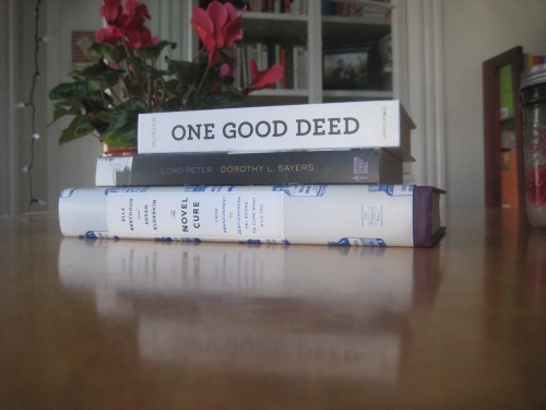 novel cure lord peter one good deed books