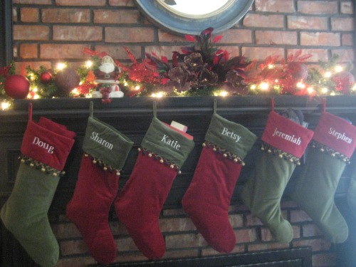 stockings christmas texas