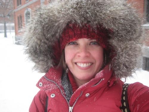 snow hood jacket