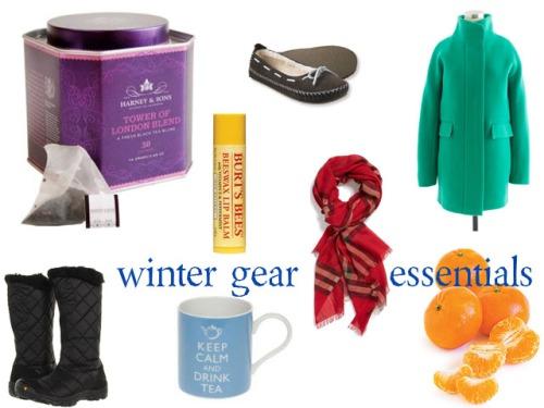winter gear essentials