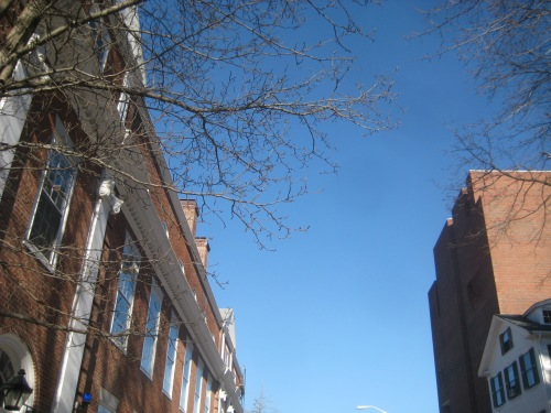 blue sky appian way