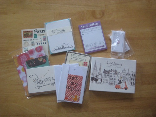 stationery notecards