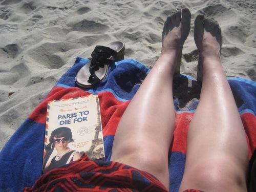 paris to die for beach book