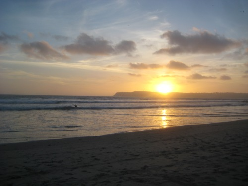 coronado ca sunset