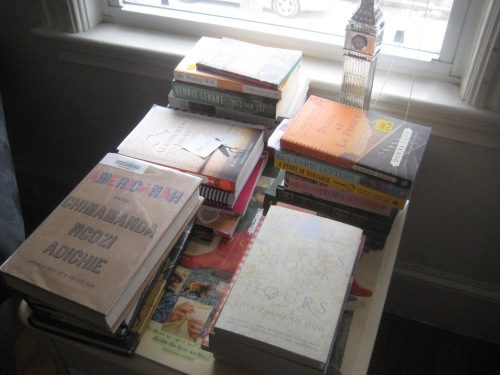tbr table books march 2014