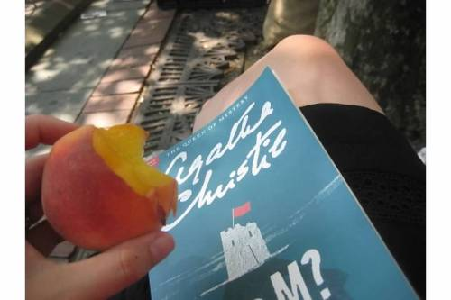 agatha christie n or m nectarine summer