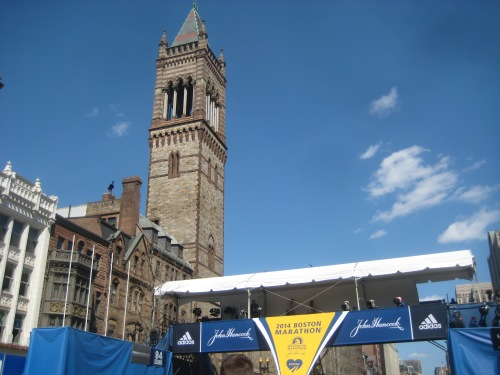 boston marathon finish line copley square