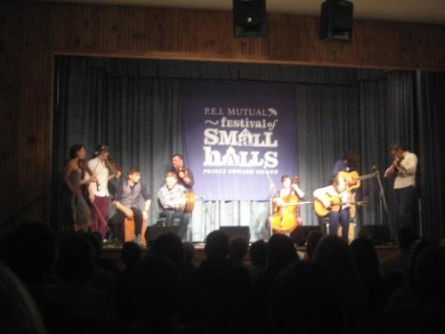 festival of small halls pei