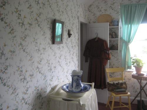 anne's bedroom green gables pei