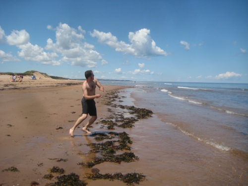 jer skipping rocks pei beach