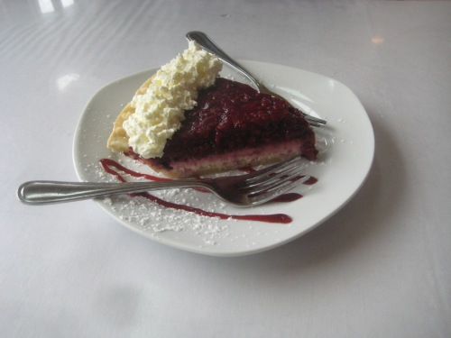 raspberry cream cheese pie pei