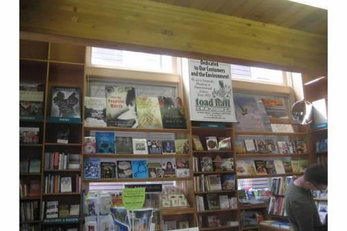toad hall bookstore rockport ma interior