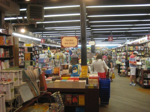 brookline booksmith interior
