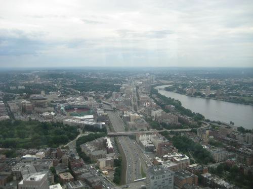 top of the hub view boston
