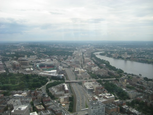 top of the hub view boston