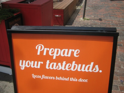 prepare your tastebuds taco truck sign