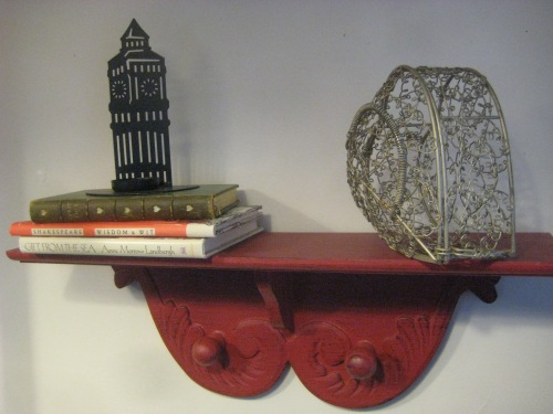 treasures big ben books shelf