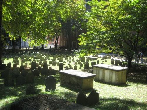 old granary burying ground boston