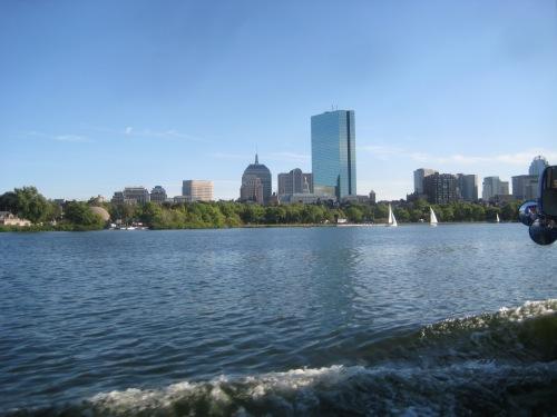 boston skyline river