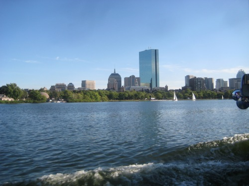 boston skyline river