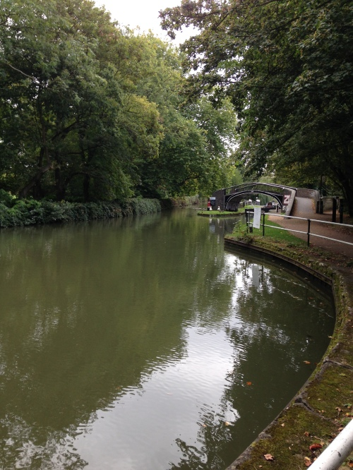 oxford canal morning