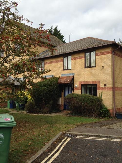 cowley house blue door