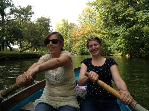grace jo rowing