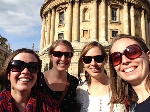 housemates radcliffe camera oxford