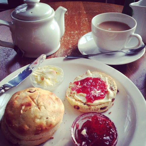 queens lane cream tea oxford