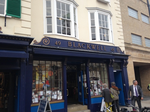 blackwells bookshop oxford