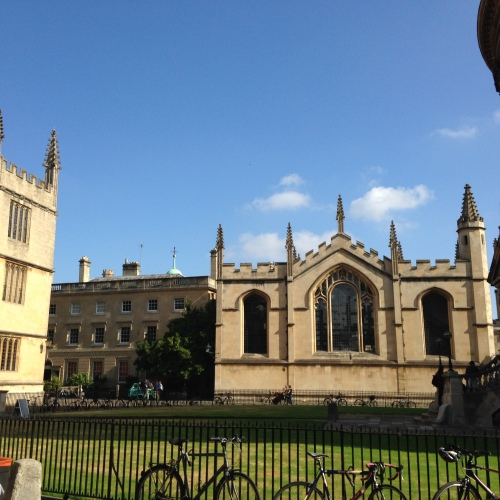 all souls college oxford radcliffe square