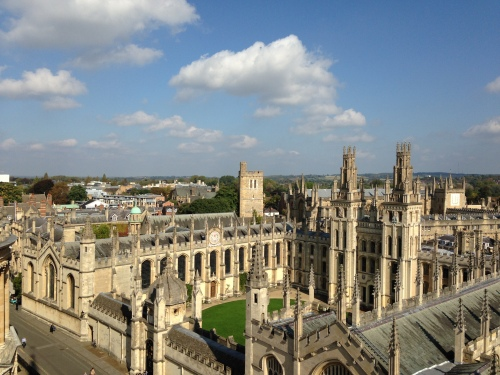 all souls towers oxford england