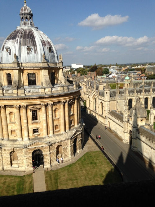 radcliffe camera st mary's tower oxford