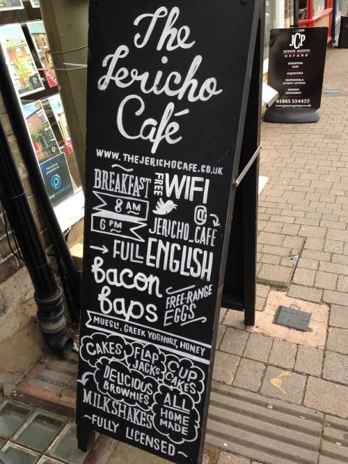 jericho cafe sign oxford