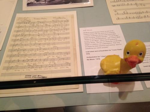 rubber duckie sesame street sheet music