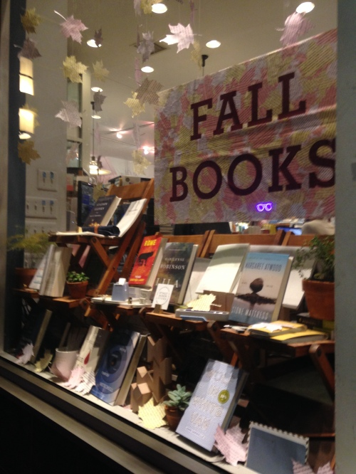 fall books window mcnally jackson nyc