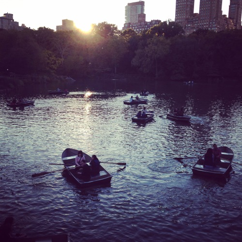central park rowboats nyc