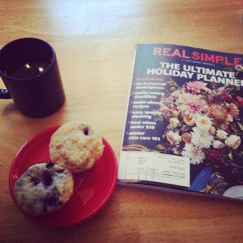 muffins mug real simple magazine breakfast