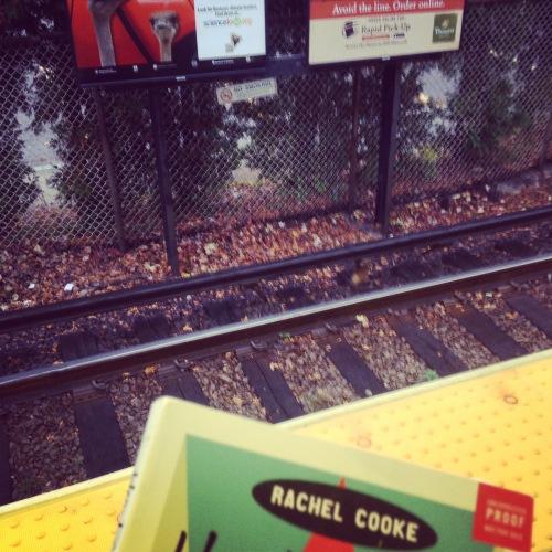 book subway platform