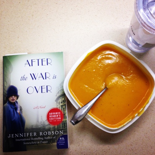 soup book lunch