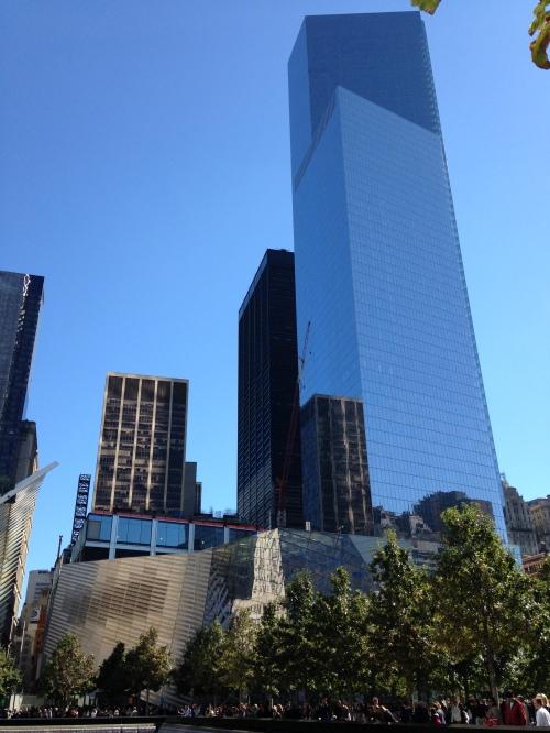 sept 11 memorial blue sky