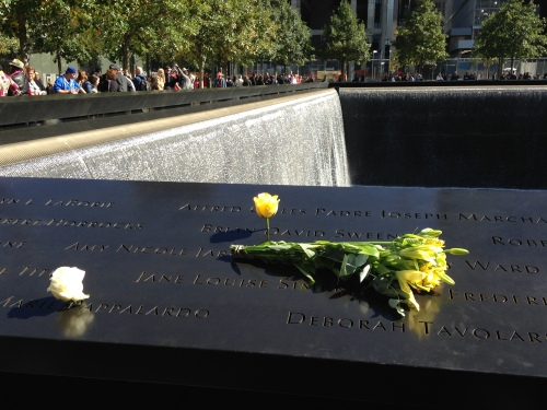 sept 11 memorial flowers