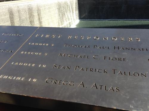 first responders sept 11 memorial