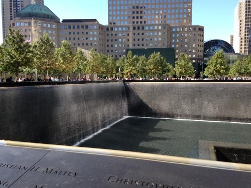 sept 11 memorial pool