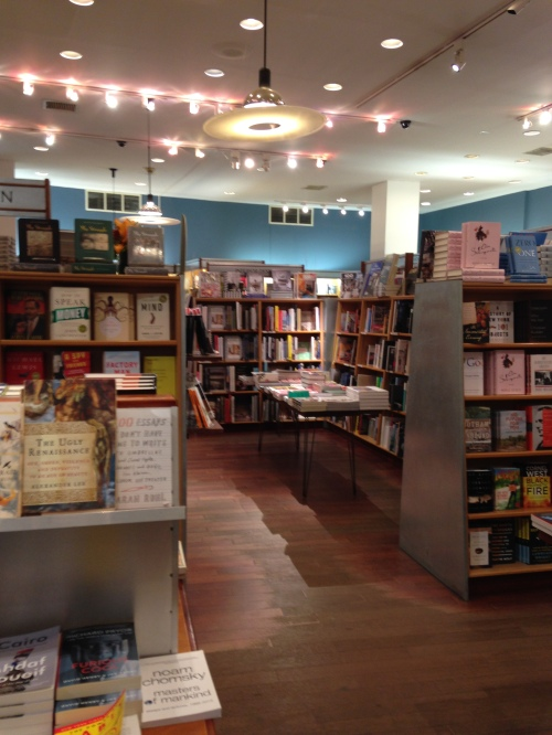 mcnally jackson books nyc interior