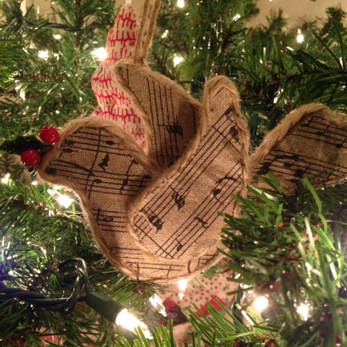 songbird ornament music